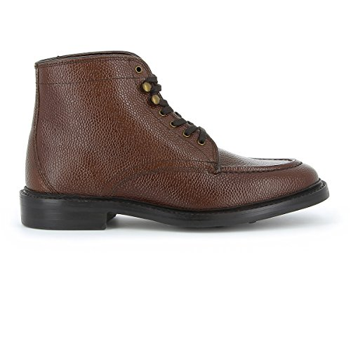 Monogram Apron Boot Mid Brown Grain Leather g2V0Gu