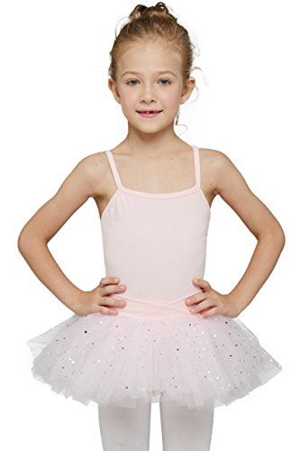Ballet Tutu Leotard for Toddlers (Tag 120) Age 4-6, Ballet Pink) - Leotard Tutu