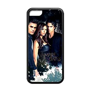 The Vampire Diaries Poster Iphone 5C TPU Hard Cover Case American TV Series by lolosakes
