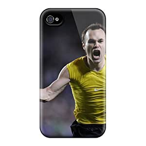 NQn22293CoMn Faddish Fc Barcelona Champions Andres Iniesta Case Cover For Apple Iphone 6 Plus 5.5 Inch