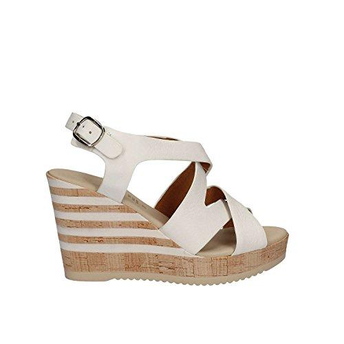 Grace Shoes 55409 Sandalias Altos Mujeres Negro