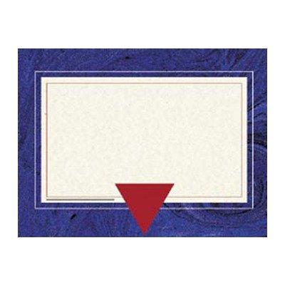 BLUE MARBLE CERTIFICATE BORDER FLIPSIDE H-VA659