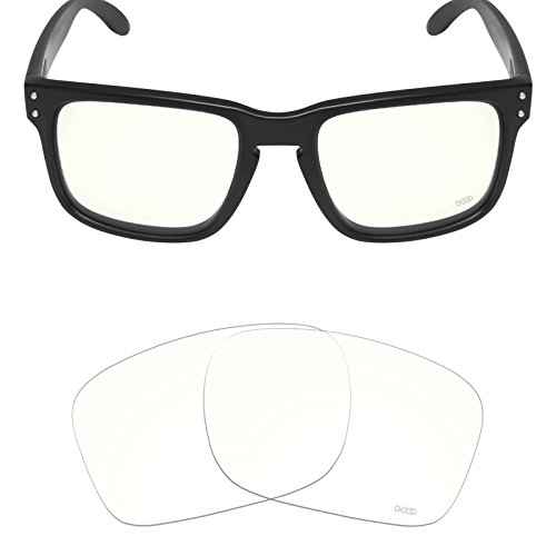 Mryok+ Polarized Replacement Lenses for Oakley Holbrook - HD - Clear Holbrook