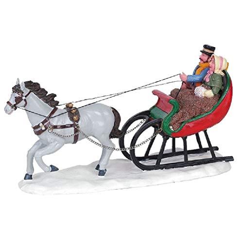 Lemax Village Collection Sleigh Ride #63571 (Lemax Village Christmas Caddington)