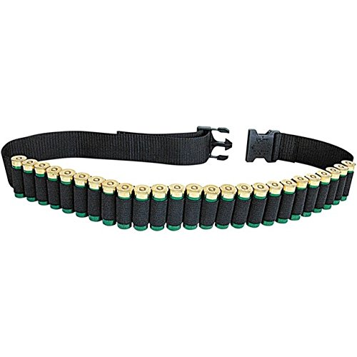 Allen Shotgun Shell Belt, Holds 25 Shotgun Shells, Hunting, Sporting Clays or Trap Shooting (Best 20 Gauge Shotgun For Sporting Clays)