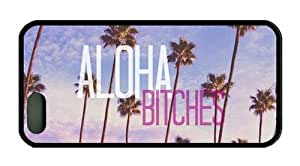 Aloha Theme Iphone 5 5s Case TPU Material Designed by HnW Accessories