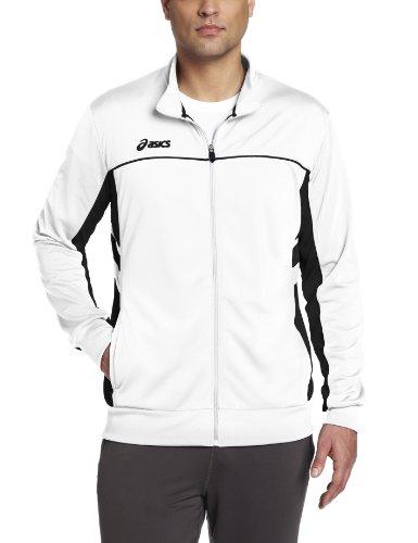 ASICS Men's Cabrillo Jacket,Royal/White,Medium