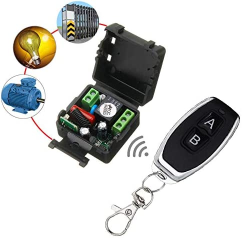 Landa tianrui 433MHz Universal-Fernbedienung Schalter 220V AC 1CH RF-Relais-Empfänger und Transmitter for elektrische Gerät EIN/Aus