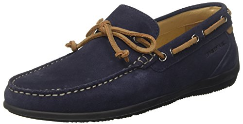 002A01 Blue Lumberjack Loafer Leman Mocassini Navy Uomo Blu 0xqO5HFwq