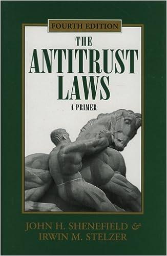 Book The Antitrust Laws: A Primer