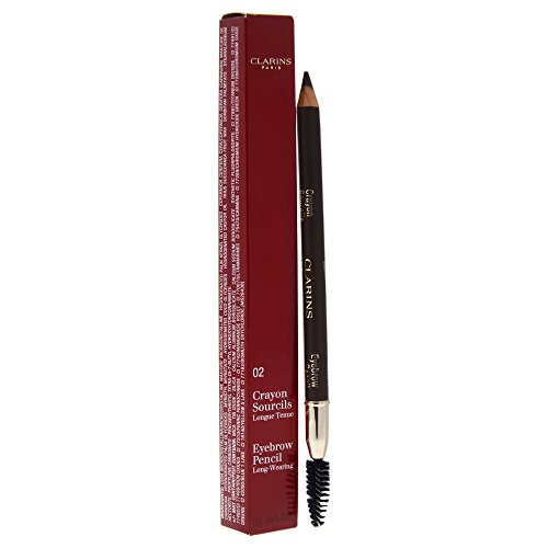 Clarins Eyebrow Pencil, No. 02 Light Brown, 0.04 Ounce