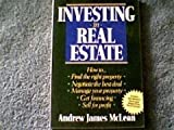 Investing in Real Estate, Andrew James McLean, 0471601152