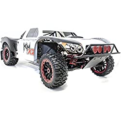 NEW! 1/5 King Motor X2 Deluxe 4WD RTR 30.5cc SC Truck LOSI 5IVE T Rovan LT Compatible