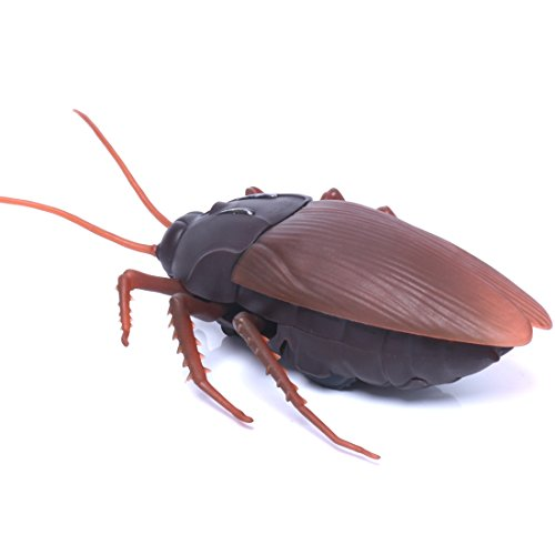 R/C Cockroach , Hmane Infrared Remote Control Mock Fake Cockroach Fun Toys New Arrival Gags Practical Jokes Funny Gadgets