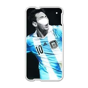KKDTT Argentina Captain Lionel Messi FC Barcelona Phone Case for HTC One M7