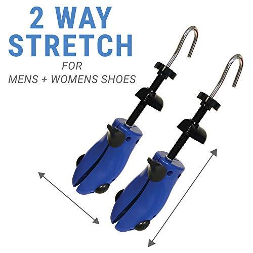 Premium Pair Shoe Stretchers 2 Way Stretcher Men Women Wide Feet Stretch Medium by Simple Shine (Image #3)