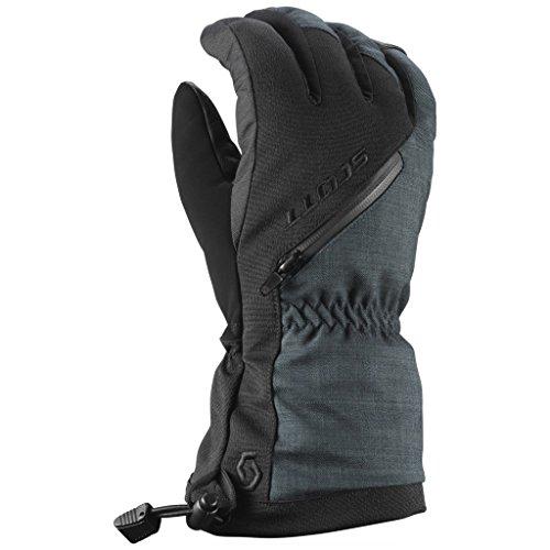 Scott Ultimate Premium GTX Glove (BLACK, LARGE) (Black Glove Scott)