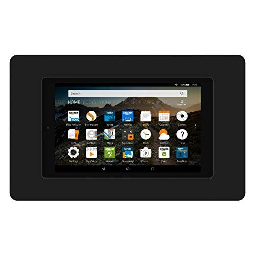 VidaMount On-Wall Tablet Mount - Amazon Fire HD8 7th Gen - Black (2017) by VidaMount (Image #1)
