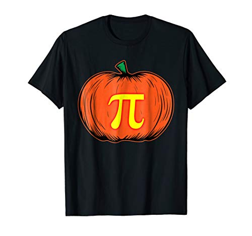 Pumpkin Pie Math Pun Funny Hallowween Tee -