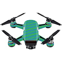 Skin For DJI Spark Mini Drone – Sharp Chevron | MightySkins Protective, Durable, and Unique Vinyl Decal wrap cover | Easy To Apply, Remove, and Change Styles | Made in the USA