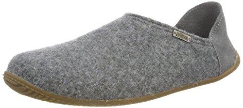 Grau 610 Pantoffel Uni Living Pantoffeln Grau Kitzbühel Damen vOxSXS