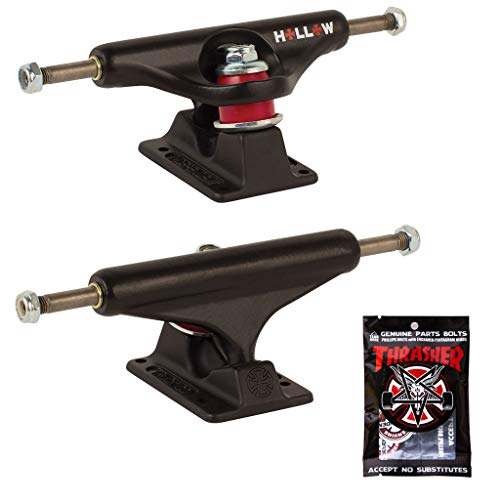 Independent Skateboard Trucks Forged Hollow Black 129 (7.6