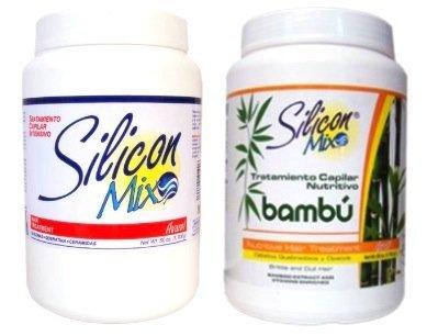 Combo | Silicon Mix 60oz + Silicon Mix Bambú 60oz - Hair Treatment by Silicon Mix