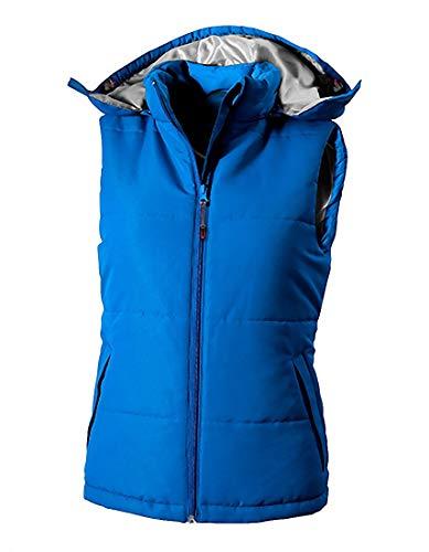 Sky Transicional Slazenger Bodywarmer Chaleco Capucha Blue Con 5z7qSX7wx