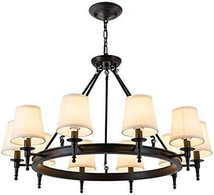 Modern Chandelier Dimmable Style Chandelier Retro Loft Lamp Wrought Iron Restaurant Light Black Widow Industrial Wind Magic Bean Creative Spider Chandelier Black