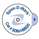 Spee-D-Mark SDM-HBB20 Super-Sticky Mammography Skin Marker Nipple Radiopaque, 2.0 mm Size (Box of 100)