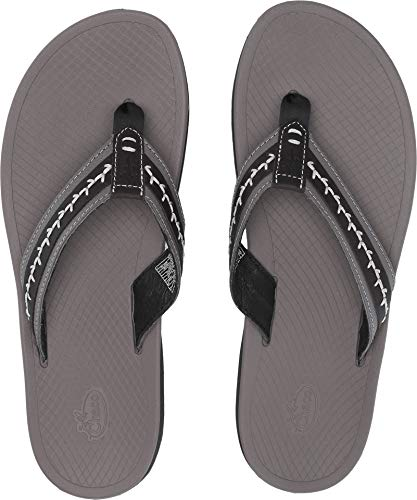 Chaco Mens Flip Sandals, Black, 11 Medium