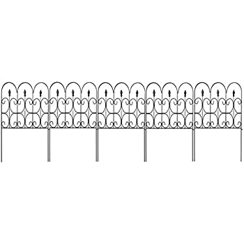 Amazoncom WHITE GARDEN PICKET FENCE WHITE 24 LONG PACK OF 18