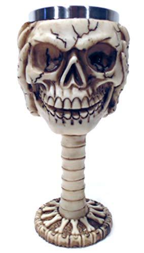 Calice Medieval Cranio Caveira