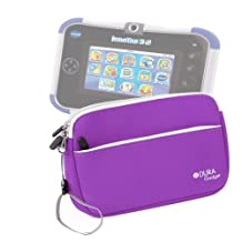 DURAGADGET Cool And Colourful Carry Case (Purple) For VTech InnoTab 3S