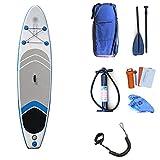 Recreación al aire libre Deportes acuáticos Surf El SUP inflable portátil se levanta el tablero de paleta, tablero inflable SUP que practica surf fijado con todos los accesorios for la juventud