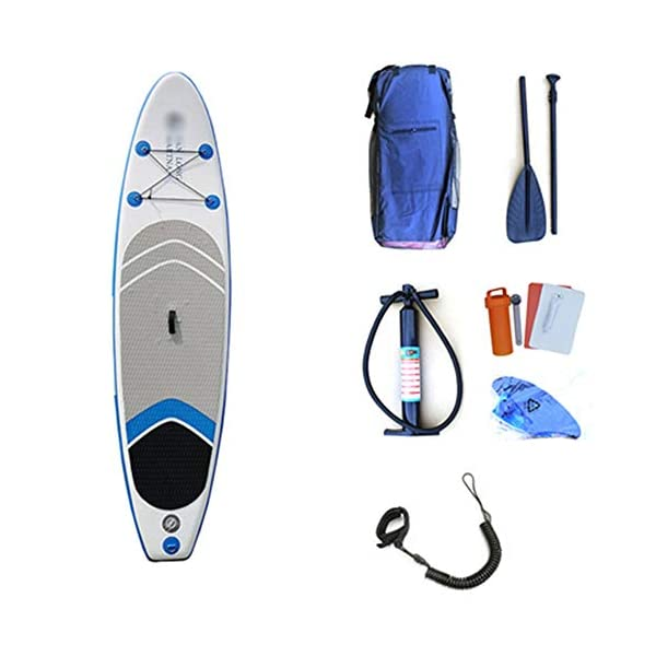 Kanqingqing-Sport Stand Up Paddel Gonfiabile SUP Gonfiabile Stand Up Paddle Consiglio Comodo Gonfiabile SUP Surfing l… 2 spesavip