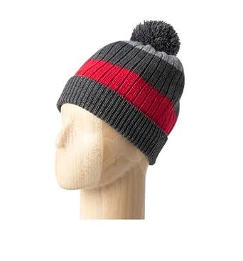 Promod Bonnet à pompon homme Multicolore Unique