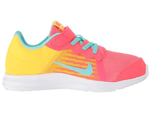 Nike Kids' Preschool Downshifter 8 Fade Running Shoes (1.5, Red/Green) by Nike (Image #7)