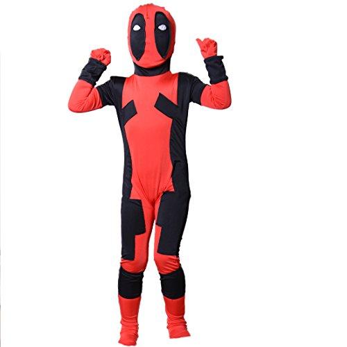 Wraith East Deadpool Costume BodySuit