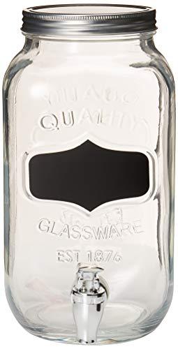 glass 2gallon beverage dispenser - 6