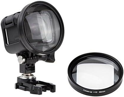 Lente Profesional de 58 mm para fotografía submarina con Filtro ...
