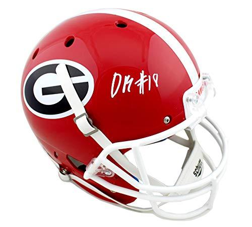 DeAndre Baker Autographed/Signed Georgia Bulldogs Schutt NCAA Full Size Helmet