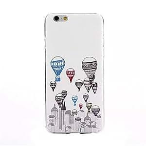 ZMY Funda Trasera - Gráficas/Dibujos/Diseño Especial/Diseñada en China - para iPhone 6 Plus ( Multicolor , TPU )