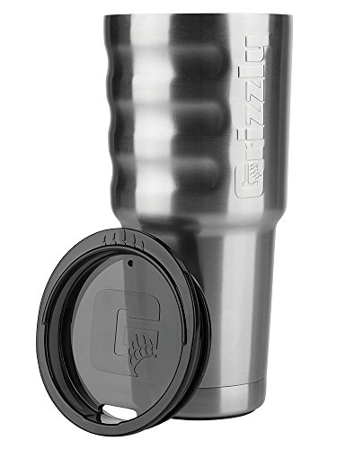 Grizzly Coolers Grip Cup, Stainless, 32 oz