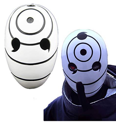 Halloween Collector's Edition, Naruto Head cos Headgear, White Costume Ball, Resin mask -