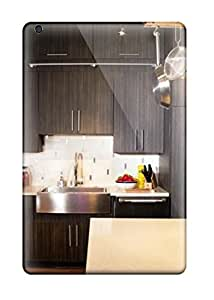 Case Cover Eclectic Kitchen With Stainless Farmhouse Sink/ Fashionable Case For Ipad Mini/mini 2