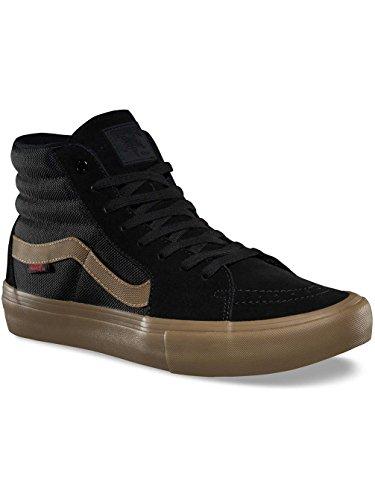 Vans x Thrasher SK8-Hi Pro Sneakers (Black/Gum) Mens Classic Skate Shoes R1rZ1g