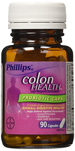 Phillips Colon Health Probiotic Supplement, 90 Count