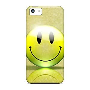 Premium Protection Smiley Cases Covers For Iphone 5c- Retail Packaging