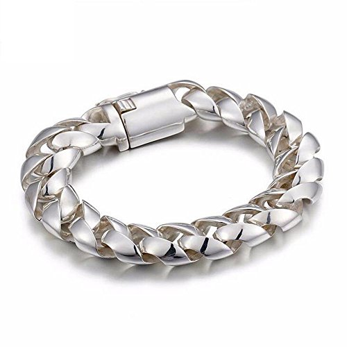 DB&PEISHI S925 sterling silver round buckle bracelet by SHILIYOUPIN